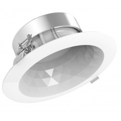 Downlight LED facetté 16W 40000h 4000K