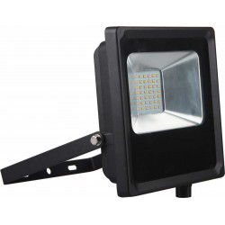 Projecteur LED IP65 1900lm 20W 6500K Noir